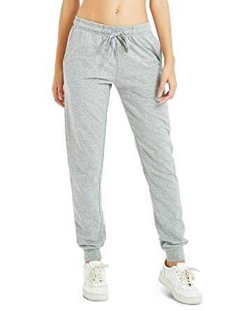 """great quality cheap prices enjoy best price Safort Women Casual Sweatpants 30""""/32""""/34"""", Cotton Jogger Pants with There  Pockets, Elastic Waist Jersey Pockets Pants"""