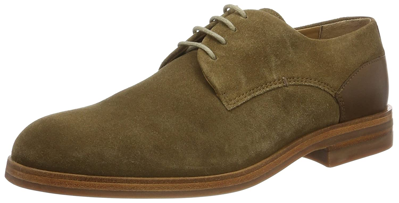 Hudson Soft Enrico Suede 41, Zapatos de Cordones Oxford para Hombre