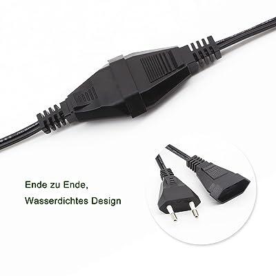 GiveU 3M / 9.8 pies de cable de extensión impermeable para G40 al aire libre luces de cadena