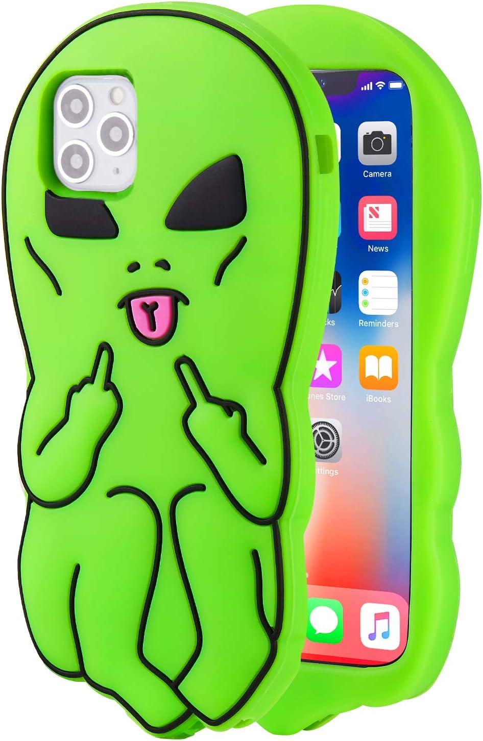 Unique Alien designs soft cases and covers iPhone 11 iphone case iPhone 12 Max case iPhone XR case iPhone 12 case iPhone 8 Plus case