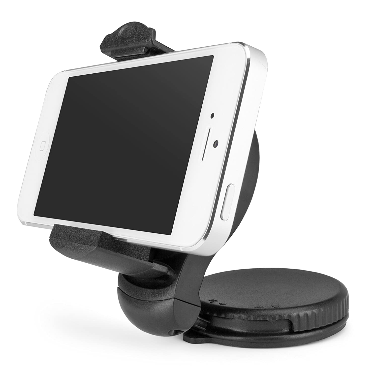 BoxWave TinyMount Suction Mounted Car Mount with Adjustable Clamp for Sony Xperia Z5 Premium BoxWave Corporation Sony Xperia Z5 Premium Stand and Mount