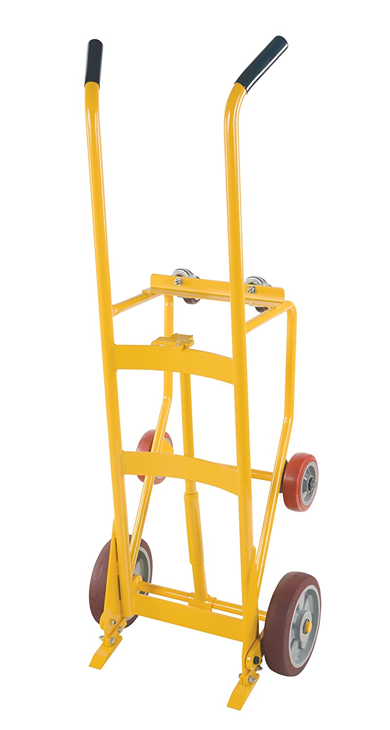 1,000lb Capacity Dual-Handle Hand Truck Heavy Duty Industrial Cart Moving