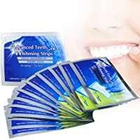 Teeth Whitening Strips 28ps, Professional Teeth Bleaching Gel Teeth Stain Removal Strips by Breett with Mint Flavor, Fast Effective White Strip Dental Whitener Kit Safe for Bright Teeth