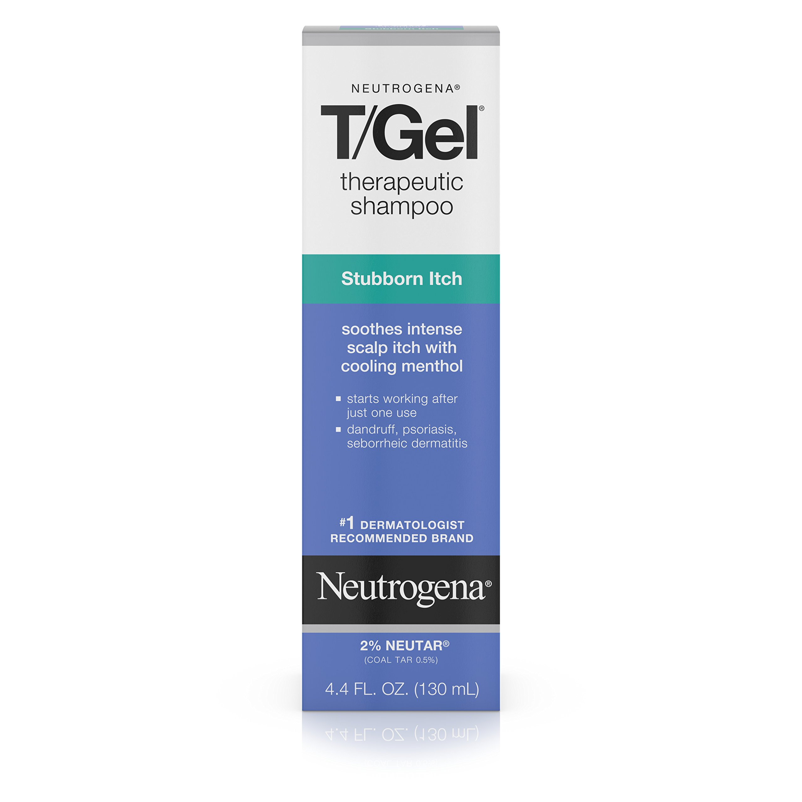 Neutrogena T/Gel Therapeutic Shampoo Stubborn Itch, 4.4 Fl. Oz.