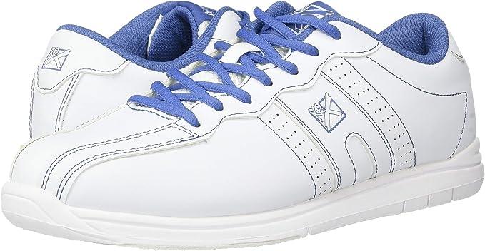KR Strikeforce Womens O.p.p Bowling Shoes White//Periwinkle Damen Strikeforce Damen O.P.P Bowlingschuhe Wei/ß//Immergr/ün
