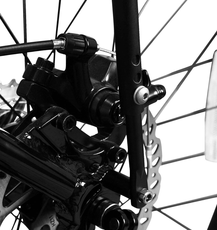 Ibera PakRak Bicycle Touring Carrier Portaequipajes para Bicicleta Montaje al Cuadro para Carga Superior y Lateral