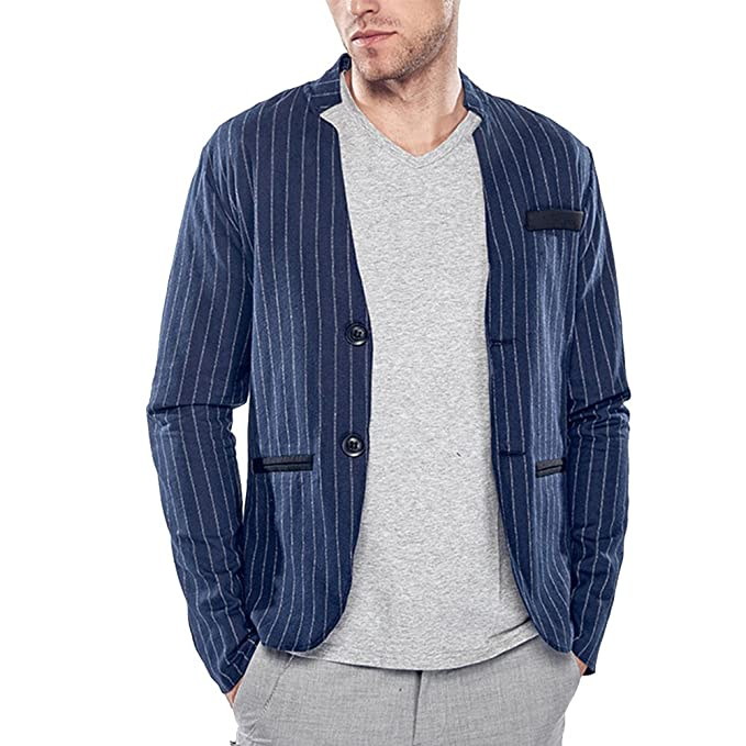 GUOCU Hombres Trajes Moda Chaqueta Abrigos Blusas Chaqueta Jacket Outerwear Tops Blazer: Amazon.es: Ropa y accesorios