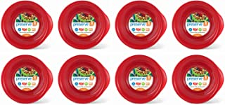 product image for Preserve Everyday BPA Free Bowls Made from Recycled Plastic in the USA, Bulk Set of 32, Pepper Red