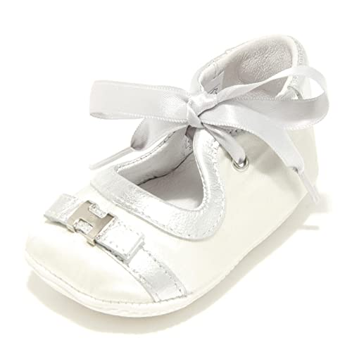 5207G ballerina bimba bianca argento HOGAN JUNIOR culla scarpa shoes kids   20   Amazon.it  Scarpe e borse d5a48c48926