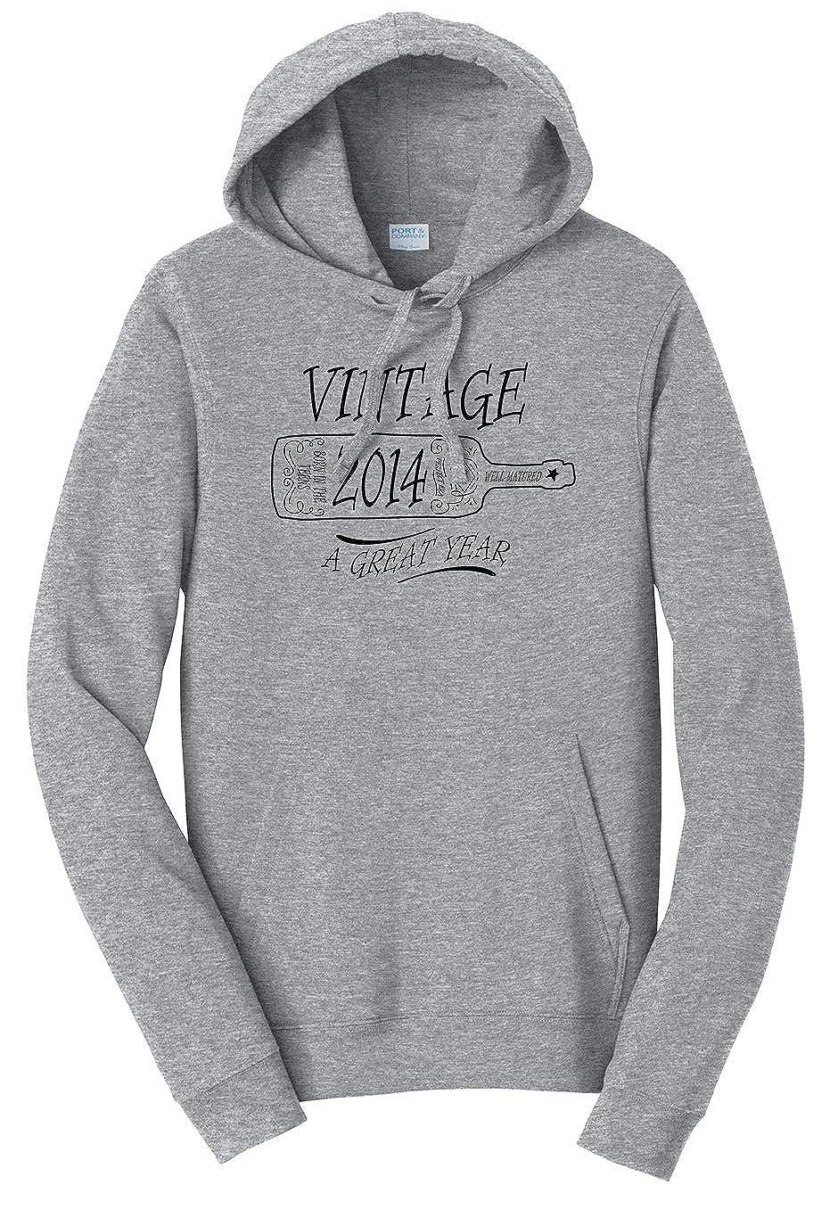 Tenacitee Unisex Aged Like a Fine Wine 2014 Sweatshirt