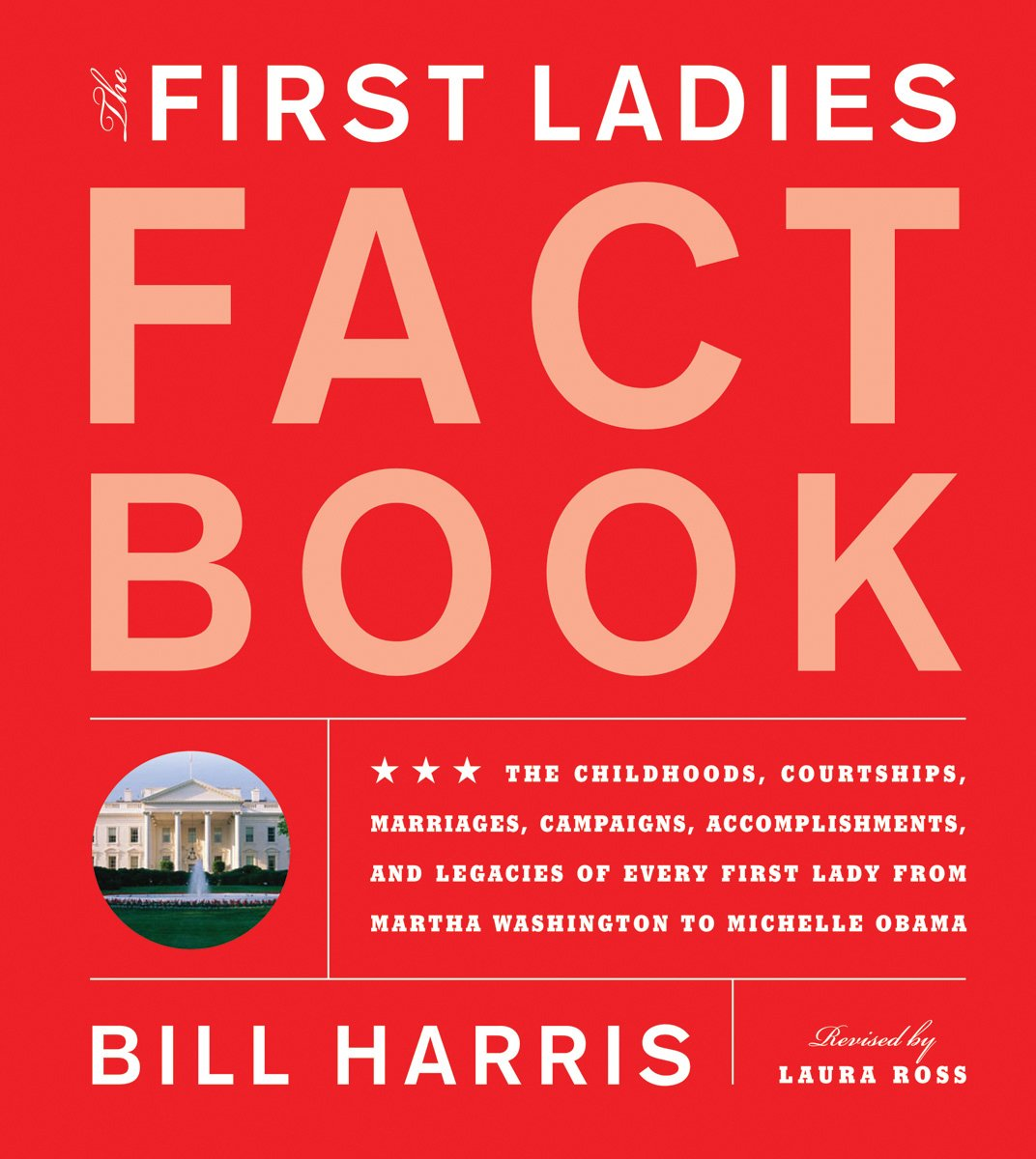 First Ladies Fact Book: Revised and Updated! The Childhoods, Courtships, Marriages, Campaigns, Accomplishments, and Legacies of Every First Lady from Martha Washington to Michelle Obama