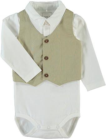 88ba10ff060177 name it Baby Kragen Body festlicher Hemd-Body mit angenäghter Weste  Nithauge (62)  Amazon.de  Bekleidung