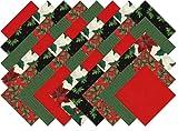Christmas Holiday Collection 40 Precut 5-inch