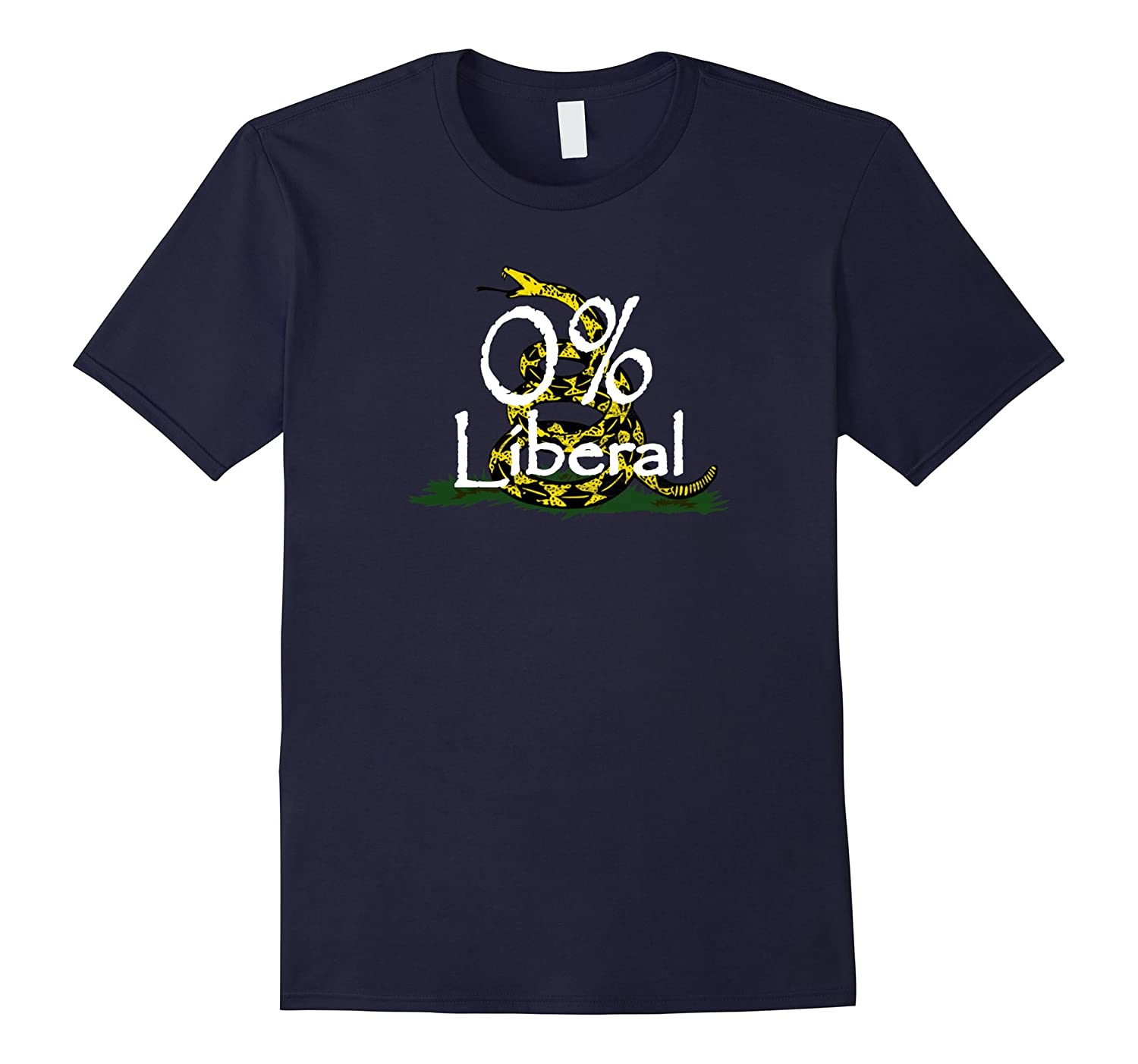 0 Percent Anti-Snowflake Liberal Funny Conservative T-Shirt-Art