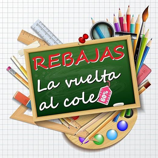 Vinilo de Rebajas Vuelta al Cole | Cartel Rebajas | Rebajas ...