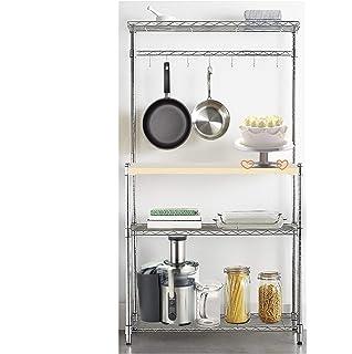 Amazon.com: 4-tier Bakers estante microondas soporte estante ...