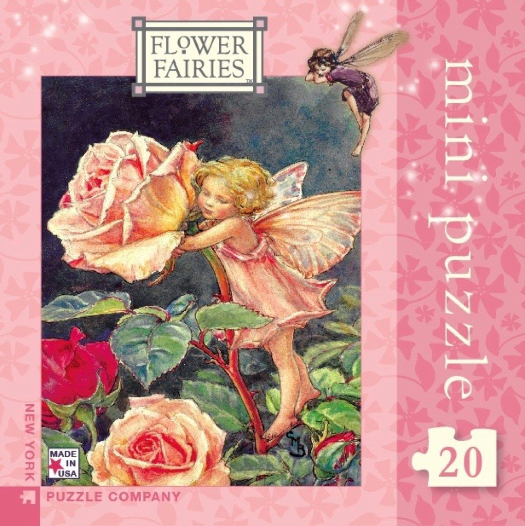 Amazon New York Puzzle Company Flower Fairies Rose Fairy Mini