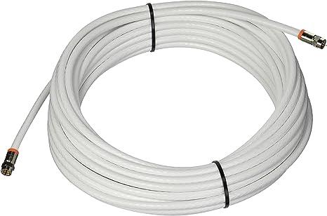 Baja pérdida RG-6 Cable coaxial de Audio y vídeo Digital Color ...