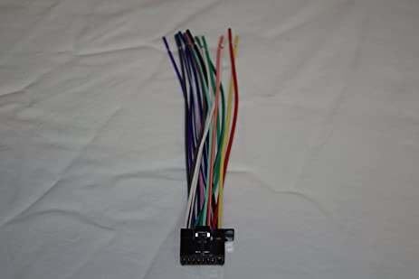 71vLEL7NxjL._SX463_ amazon com wire harness for pioneer avh 170dvd 270bt x1700s  at gsmx.co