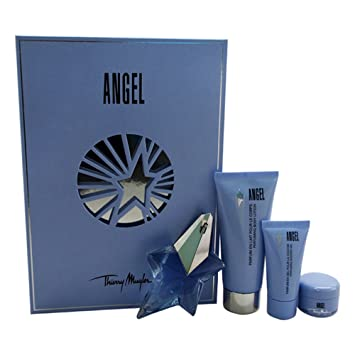 7002997df6 Amazon.com   Thierry Mugler Angel 4 Piece Gift Set for Women   Beauty