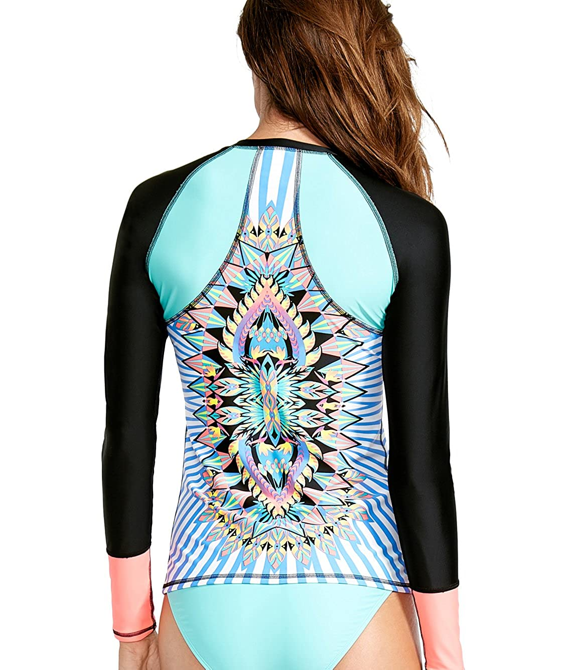 Body Glove Womens Look at Me Surfs Up Long Sleeve Rashguard