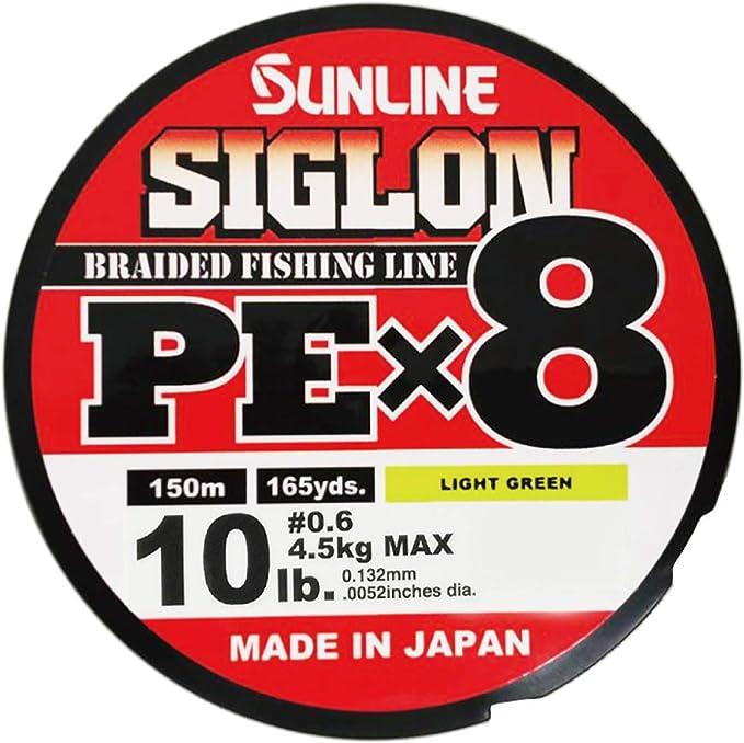 0322 Sunline P.E Line X8 Jigger 8HG Saltwater Special 300m P.E 6 90lb