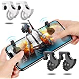 BIMAGE Phone Game Trigger Mobile Game Fire Button Aim Key L1R1 Shooter Controller for PUBG Knives Out Rules of Survivle fortnite