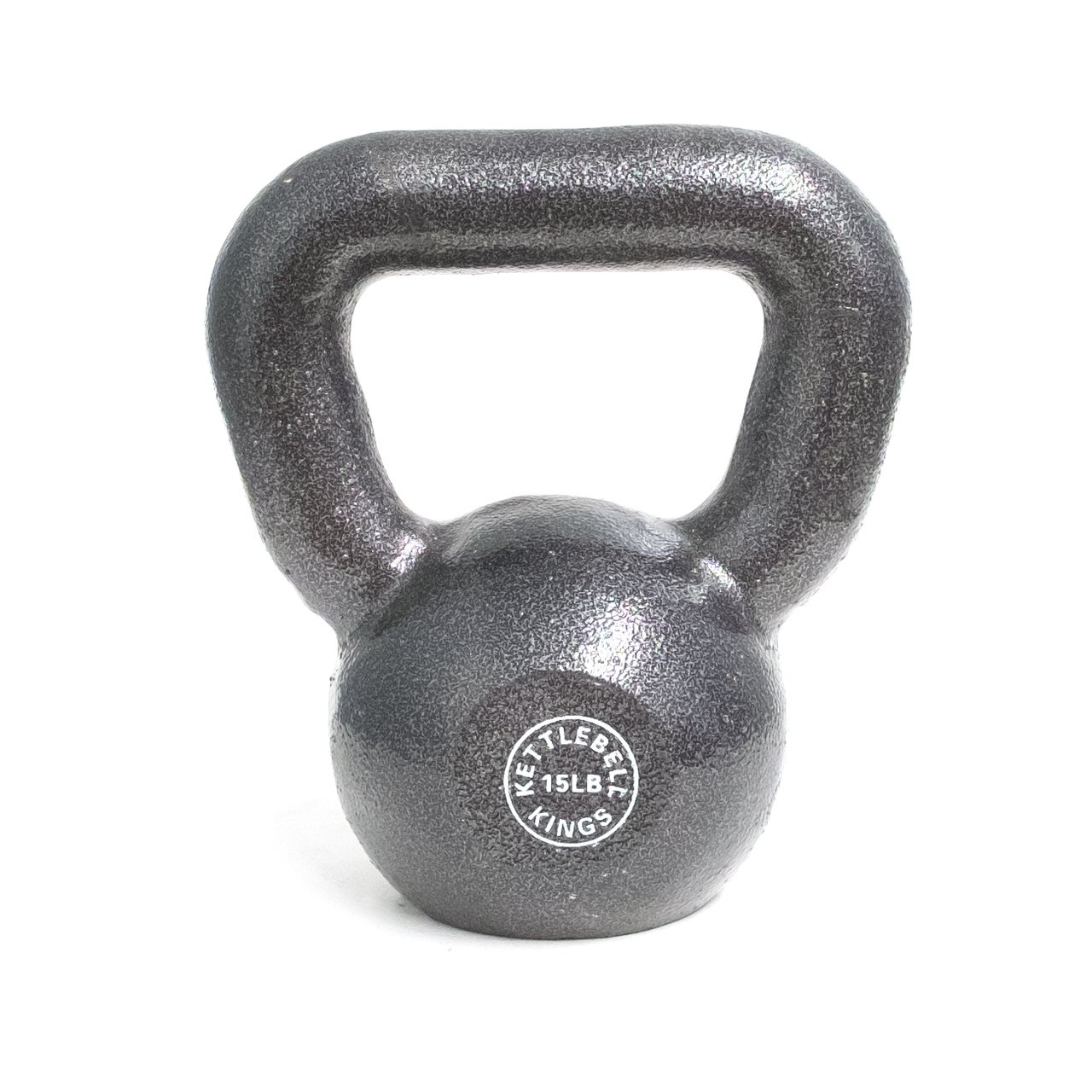 Kettlebell Kings Complete Set | Cast Iron Kettlebell 5 Pound Increments | Designed for Home Workouts, Swings & Strength Training by Kettlebell Kings