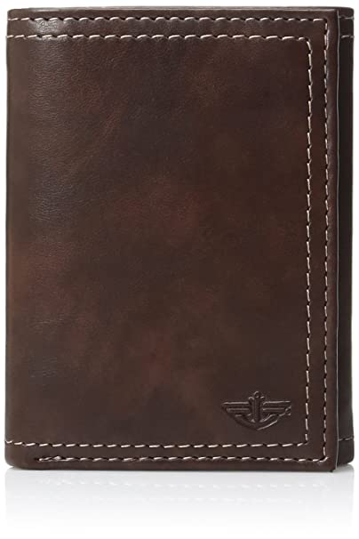 Dockers Cartera Trifold de hombre - Marrón -: Amazon.es ...