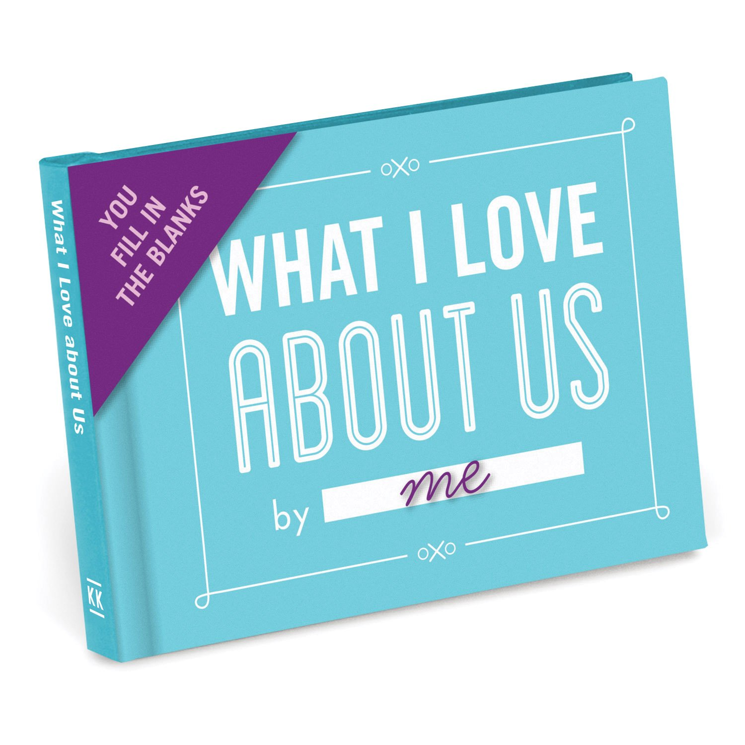 Knock Knock What I Love About Us Fill in The Love Journal (50074)