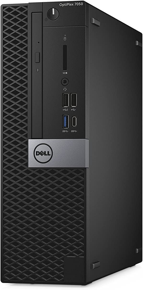 Dell OptiPlex 7050 Small Form Factor Business Desktop Computer (Intel Core i5-6500, 8GB DDR4, 256GB SSD, DVD) Windows 10 Pro (Renewed)