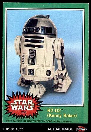 1977 Topps Star Wars # 253 R2-D2 (Card) Dean's Cards 5 - EX