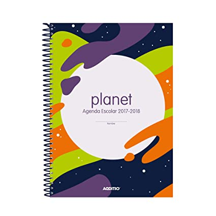Additio Planet - Agenda 2017-18 para educación primaria