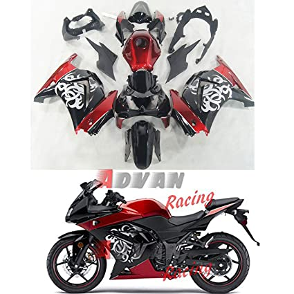 Amazon.com: Moto Onfire ABS Injection Mold Fairings Kits ...