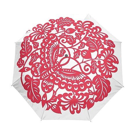 Amazon Com Alaza Travel Umbrella Chinese Style China