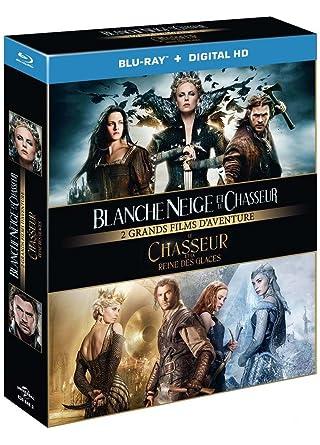 Blanche Neige Et Le Chasseur Le Chasseur Et Le Reine Des Glaces Blu Ray Amazon De Dvd Blu Ray
