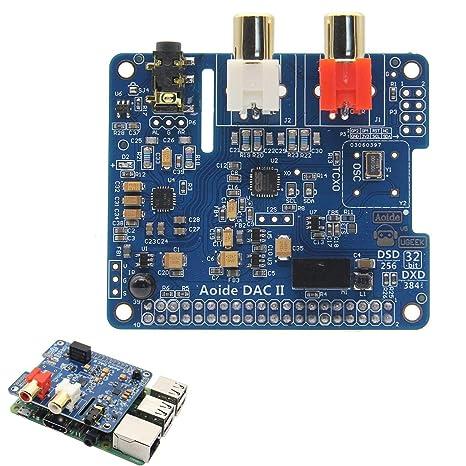 Amazon.com: Tarjeta de sonido HiFi DAC II de 384 kHz/32 bits ...