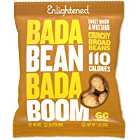 Bada Bean Bada Boom Plant-based Protein, Gluten Free, Vegan, Non-GMO, Soy Free, Kosher, Roasted Broad Fava Bean Snacks…