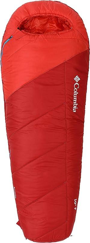Columbia 10 Degree Mount Tabor Mummy Sleeping Bag Regular Length/Extra-Long
