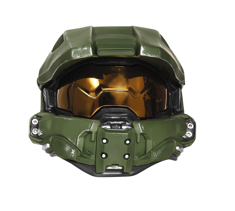 Halo ヘイロー マスターチーフ コスプレ ヘルメット ライトアップ 大人用 ハロウィン イベント   B003JO4LNQ