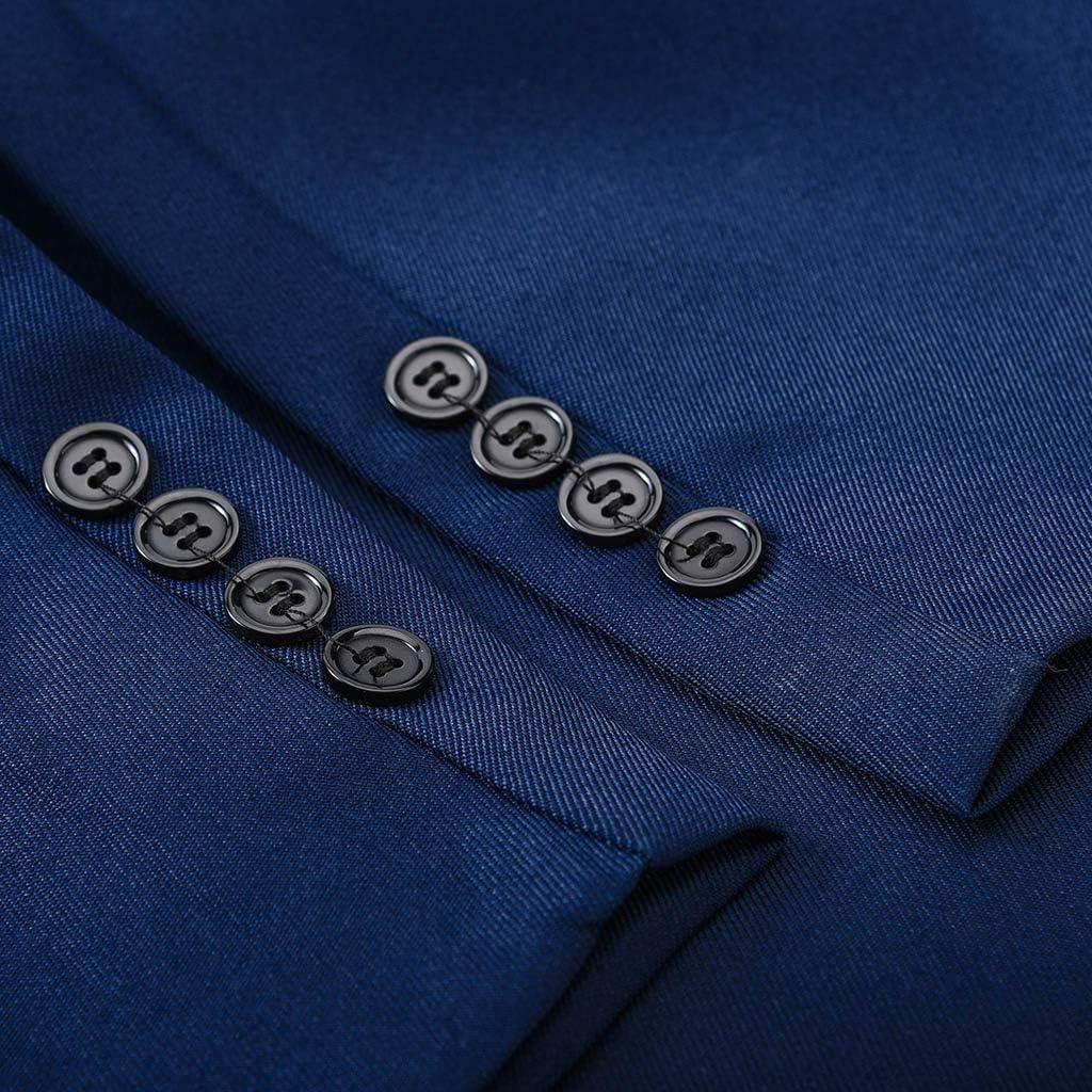 Adlforever Herren Anzug 2 teilig Slim Fit Sakko Anzughose Business Herrenanzug Modisch Suit Prom Party M/änner Host Kost/üm Anz/üge elegant Blazer Mantel Hochzeit Outwear M-3XL