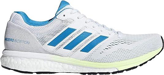 adidas Adizero Boston 7 - Zapatillas de Running para Mujer, Color Blanco, Cian, Amarillo: Amazon.es: Zapatos y complementos
