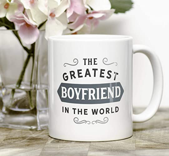 Amazon Greatest Boyfriend Mug Birthday Gift For