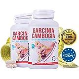 Garcinia Cambogia para adelgazar y como supresor de apetito – Suplemento alimenticio con propiedades quema grasas para combinarlo con una dieta saludable y deporte - 90 cápsulas