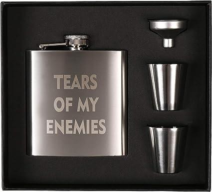 Petaca para licor, botella de agua sagrada para regalo ...