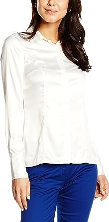 BROOKS BROTHERS Camisa Mujer Crema ES 46 (IT 50): Amazon.es ...