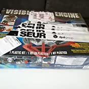 Revell- Visible V-8 Engine,Escala 1:4 Kit de Modelos de ...