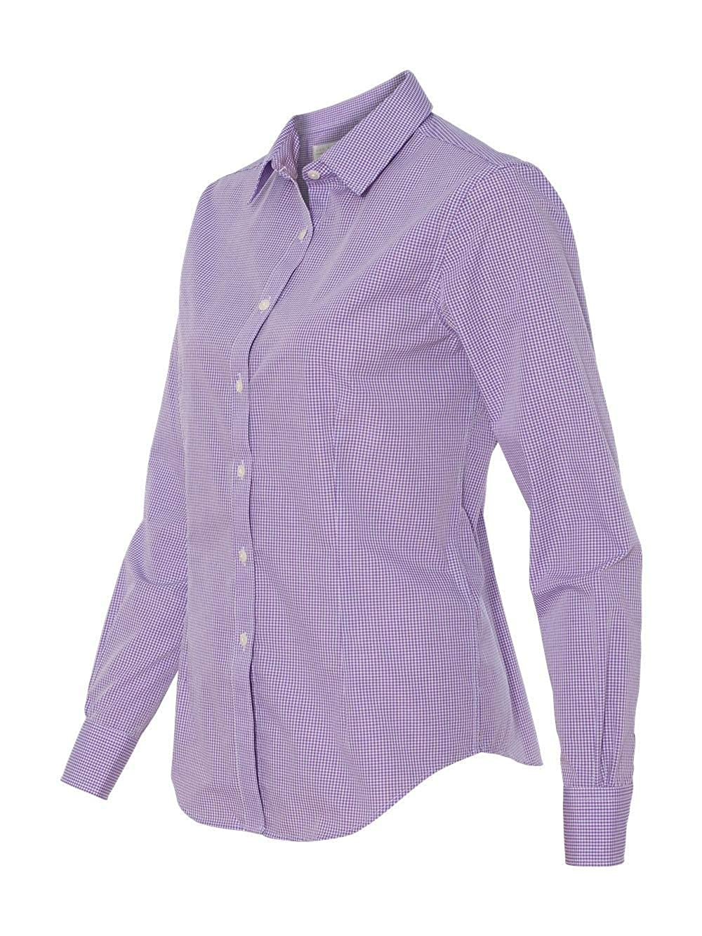 cf3b66e06cc21b Van Heusen V0226 Ladies Long Sleeve Yarn Dyed Gingham Check: Amazon.co.uk:  Kitchen & Home
