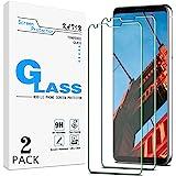 [2-Pack] KATIN For LG V30, LG V30 Plus, LG V30s ThinQ, LG V30s Plus ThinQ, LG V35 ThinQ Tempered Glass Screen Protector No-Bu