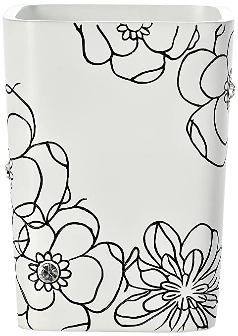 Ridder 22160101 Diamond - Vaso para cepillos de dientes (decorado con brillantes), color